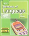 Holt Elements of Language, First Course