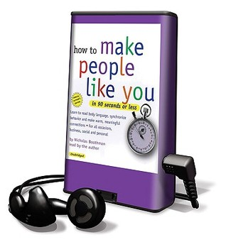 How To Make People Like You In 90 Seconds Or Less: Library Edition