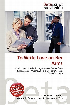 To write love on her arms book