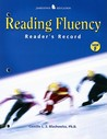 Reading Fluency Reader's Record Level F