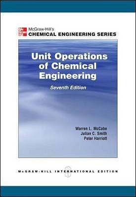 unit operations  chemical engineering  warren  mccabe reviews discussion bookclubs lists