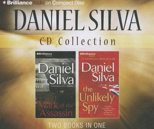 Daniel Silva CD Collection: The Mark of the Assassin, The Unlikely Spy Michael Osbourne 1