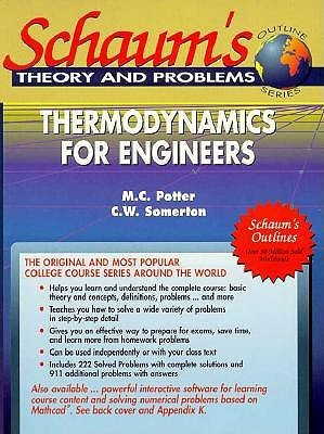 Schaum's Interactive Thermodynamics for Engineers/Book and 2 Disks (Schaum's Outline)