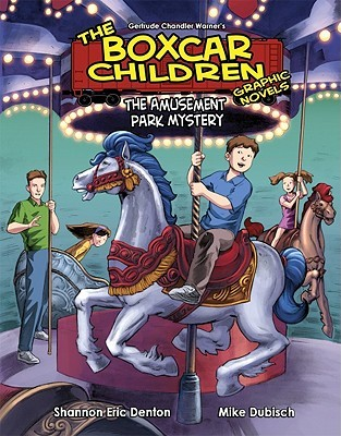 The Amusement Park Mystery (The Boxcar Children Graphic Novels #10)