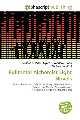 Fullmetal Alchemist Light Novels
