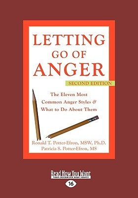 Letting Go of Anger by Ronald T. Potter-Efron