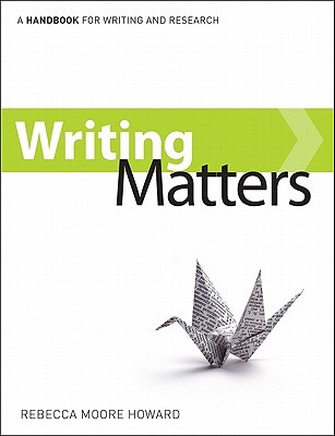 Writing Matters, Tabbed (Comb-Bound)