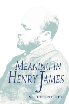 Meaning in Henry James