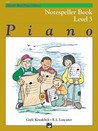 Alfred's Basic Piano Library Notespeller, Bk 3