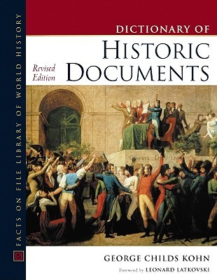 Dictionary Of Historic Documents