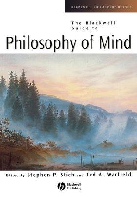 Review The Blackwell Guide to Philosophy of Mind MOBI by Stephen P. Stich