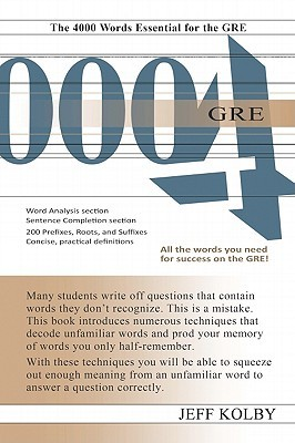 GRE 4000 eBook  by  Jeff Kolby