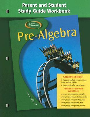 Pre-Algebra Parent and Student Study Guide Workbook