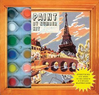Paint By Number Kit: Everything You Need to Re-Create 8 Vintage Masterpieces