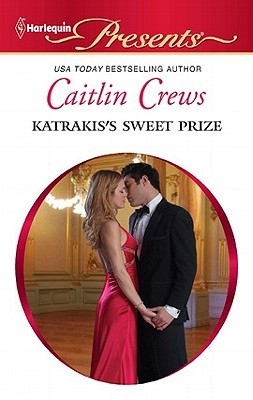"Standard Presents cover. White cover with a red banner at top saying ""Harlequin Presents."" Then the author's name, followed by book title, is printed on the white background above the circular stock photo of a poorly acted out kiss between a couple."