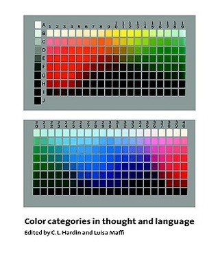 Color Categories in Thought and Language by C.L. Hardin