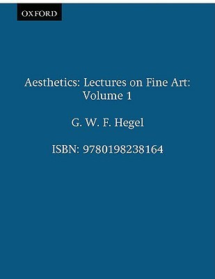 Hegel's Aesthetics by Georg Wilhelm Friedrich Hegel