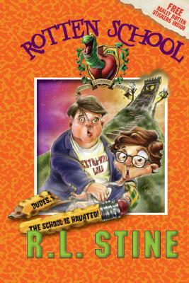 Dudes, the School Is Haunted! by R.L. Stine