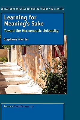 Learning for Meaning's Sake