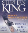 Sorry, Right Number, and Other Stories by Stephen King
