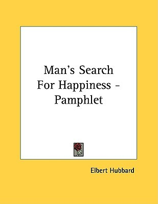 Man's Search for Happiness - Pamphlet