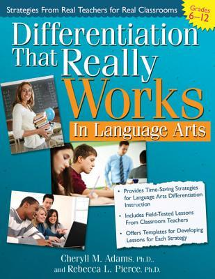 Differentiation That Really Works by Cheryll Adams