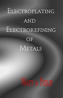 Electroplating and Electrorefining of Metals