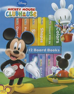 Mickey Mouse Clubhouse: 12 Board Books (Book Block)
