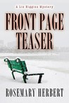 Front Page Teaser: A Liz Higgin's Mystery