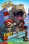 T. Rex vs Robo-Dog 3000 (Time Blasters) (Graphic Sparks)