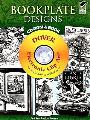 Bookplate Designs CD-ROM and Book by Carol Belanger Grafton