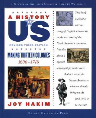 Making Thirteen Colonies by Joy Hakim