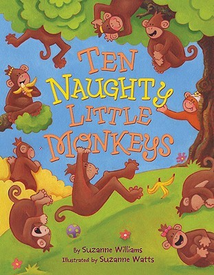 Ten Naughty Little Monkeys by Suzanne Williams