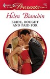 Bride, Bought and Paid For (Harlequin Presents, #2907)