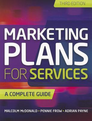 Marketing Plans for Services by Adrian Payne