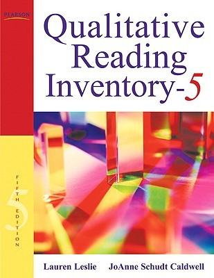 Qualitative Reading Inventory-5 [With DVD] by Lauren Leslie