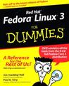Red Hat Fedora Linux 3 for Dummies [With CDROM]
