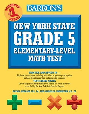 Barron's New York State Grade 5 Elementary-Level Math Test