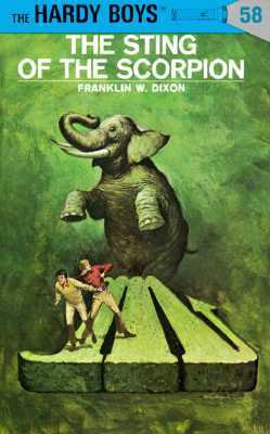 The Sting of the Scorpion by Franklin W. Dixon