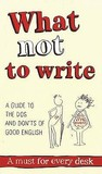 What Not To Write...