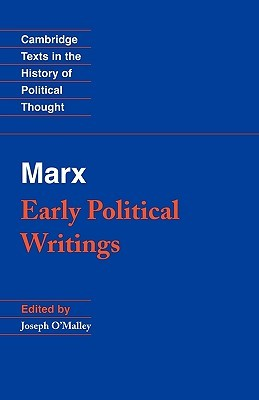 Early Political Writings by Karl Marx
