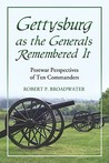 Gettysburg as the Generals Remembered It: Postwar Perspectives of Ten Commanders