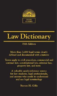 Law Dictionary: Mass Market Edition