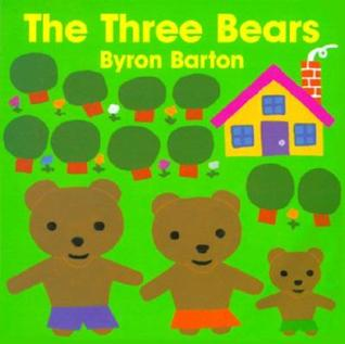 The Three Bears Board Book by Byron Barton