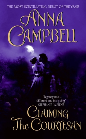 Claiming the Courtesan by Anna Campbell