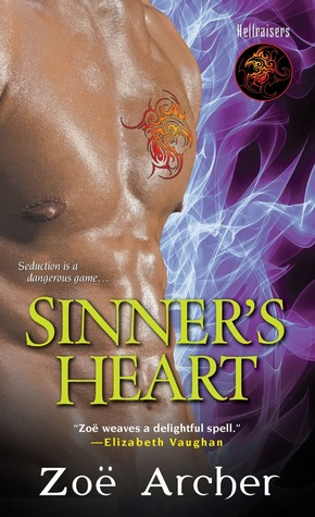 Sinner's Heart (The Hellraisers, #3)