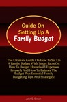 Guide On Setting Up A Family Budget