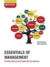 Essentials Of Management 9e An International and Leadership Perspective