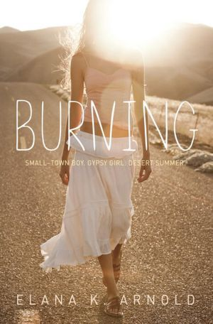 Book cover for Burning by Elana K. Arnold
