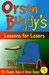 Orson Buggy's Lessons for Losers (The Bumpy Daze of Orson Buggy #1)